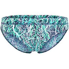 Funkita Sports Brief bikini Dames blauw/wit